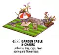 Garden Table and Chairs Set, Britains Floral Garden 4535 (Britains 1970).jpg