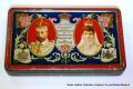George V and Queen Mary, Coronation souvenir tin (J S Fry).jpg