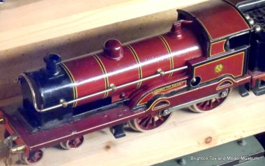 """George the Fifth"" loco, Bing for Bassett-Lowke, later LMS livery"