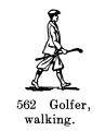 Golfer, walking Britains Farm 562 (BritCat 1940).jpg