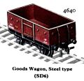 Goods Wagon Steel type SD6, Hornby Dublo 4640 (HDBoT 1959).jpg