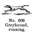 Greyhound, running, Britains Farm 606 (BritCat 1940).jpg