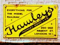 Hamleys, enamelled tinplate miniature poster.jpg
