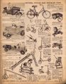 Hamleys 1939 catalogue, page23, Motors, Cycles, and Wheeled Toys (HamleyCat 1939).jpg