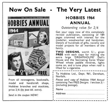 1964 Hobbies Annual