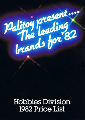 Hobbies Division price list cover