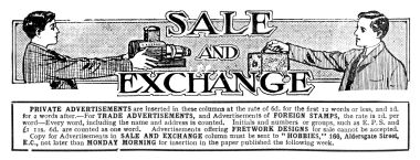 "... ""Sale and Exchange"" ..."