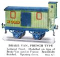 Hornby Brake Van, French Type (1928 HBoT).jpg