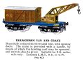 Hornby Breakdown Van and Crane (1927 HBoT).jpg