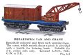 Hornby Breakdown Van and Crane (1928 HBoT).jpg