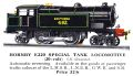 Hornby E220 Special Tank Locomotive, Southern 492 (HBoT 1934).jpg