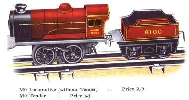1930: 6100 Royal Scot, Hornby M0 version (1930 image)