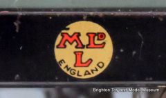 "Early Hornby MLDL ""Smiley"" sticker"