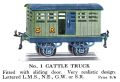 Hornby No.1 Cattle Truck (1928 HBoT).jpg