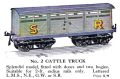 Hornby No.2 Cattle Truck (1928 HBoT).jpg