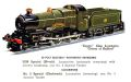 Hornby No2 Special Locomotive GWR 3821 County of Bedford (HBoT 1938).jpg