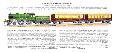 "1929 listing for the No.2 Specials, referring to the Southern loco (not illustrated) as ""A.759"""
