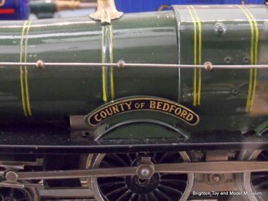 "A Hornby No.2 Special loco, showing GWR colour, styling, and brass steam valvework ""cone"""