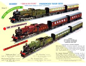 Three of the No.2 Specials and their passenger train sets, in 1938. LNER Bramham Moor is on a separate page