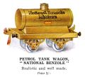 Hornby Petrol Tank Wagon, 'National Benzole' (1925 HBoT).jpg