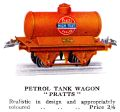 Hornby Petrol Tank Wagon, Pratts High Test (HBoT 1931).jpg