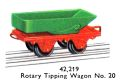 Hornby Rotary Tipping Wagon No20 42,219 (MCat 1956).jpg