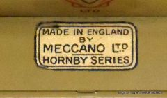 Hornby Series sticker without red border
