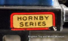 "Simple ""Hornby Series"" sticker"