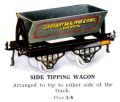 Hornby Side Tipping Wagon (1925 HBoT).jpg