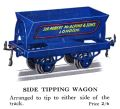 Hornby Side Tipping Wagon (1928 HBoT).jpg