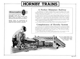 Hornby Trains, A Perfect Miniature Railway (featuring the bridge), 1931