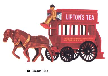 Matchbox Y12 Horse-drawn bus