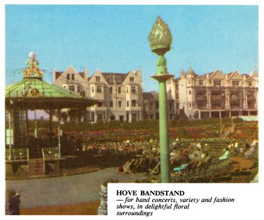 ~1961: Hove bandstand