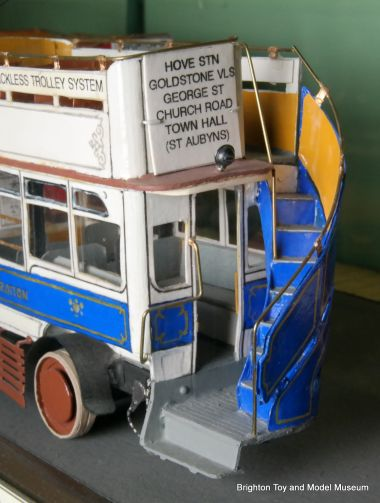 1914 experimental Cedes-Stodson Hove Trolleybus
