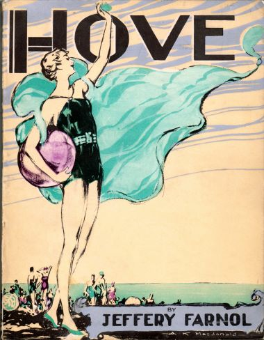 1936: Cover of the Hove Official Illustrated Guide, Artwork by Alastair K. Macdonald (1898-1947)