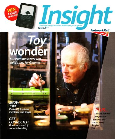 Chris Littledale on the cover of Insight magazine