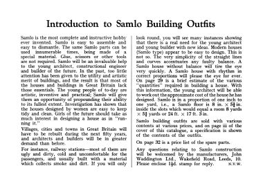 Introduction to Samlo Building Outfits