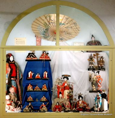 The Japanese Dolls display, after the 2013 refit and reorganisation
