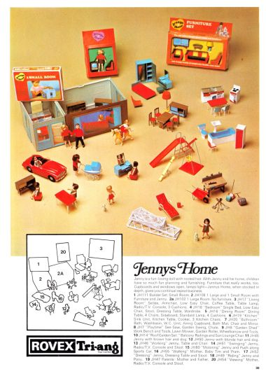 "1970: ""Jenny's Home"" range (page 1 of 2)"
