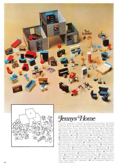 "1970: ""Jenny's Home"" range (page 2 of 2)"