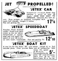 Jetex Cars and Boats, Gamages (MM 1950-08).jpg