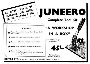 1952: Juneero Complete Tool Kit, Hobbies Handbook