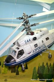 Kamov Ka25 radio-controlled twin-rotor model helicopter (Gordon Bowd).jpg