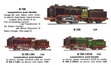 R 700 Loco and Tender