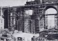 London Road Viaduct, WW2, bombed, scaffolding (BRIPAW 1944).jpg