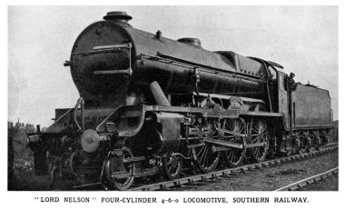Lord Nelson locomotive SR 850