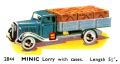Lorry with cases, Minic 2844 (TriangCat 1937).jpg