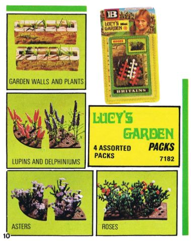 1978: Lucy's Garden Packs 7182 (introduced 1977)