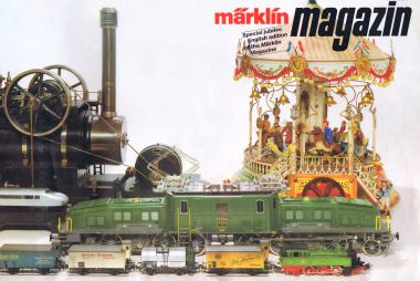 1984: Special Jubilee Edition of Märklin Magazin