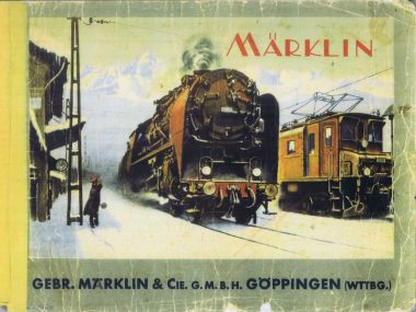 Marklin catalogue front cover artwork
